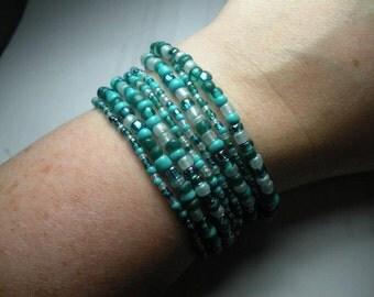 Set of 8 Water Bracelets