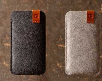 NEW Samsung Galaxy S8 Plus, Note 8, Note 7, Galaxy S7 edge Samsung Galaxy Note 4, Note 5 or S6 edge+ wool felt case