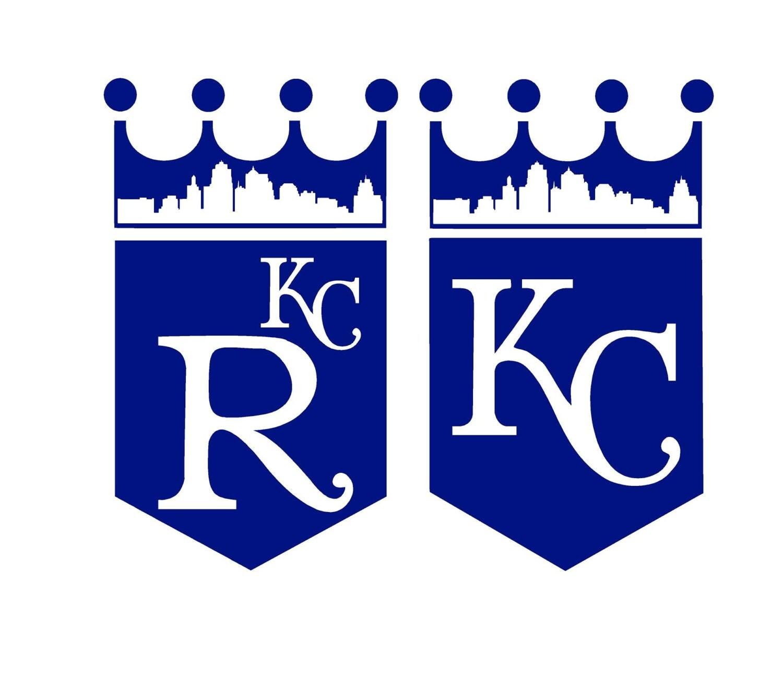 KC Royals Crown Skyline Logo by AtrumDesignCo on Etsy