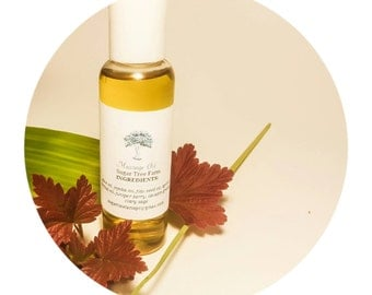Deep in the Woods Massage Oil