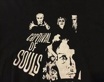 Carnival of Souls black t-shirt