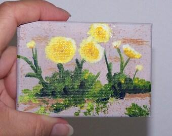 Desert Weeds Original landscape painting