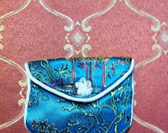 Small padded coin purse