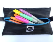 Puncture Pouch Pencil Case Upcycled Inner tube storage pouch
