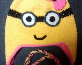 Minion Inspired Hat