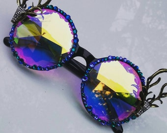 Electric Forest Kaleidoscope Glasses