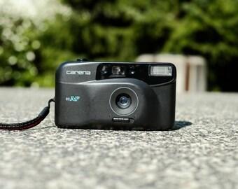Matte Grey Carena 85AF - Pocket film camera