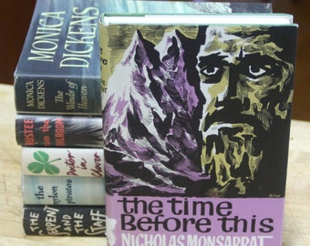 "Nicholas Monsarrat, "" The  Time Before This ""  The Book Club, London 1962 First Edition"
