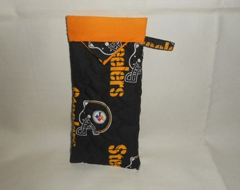 Pittsburgh Steelers -  Reading Glasses Case - Quilted Fully Lined