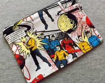 Star Trek the Original Series Make Up Zipper Pouch