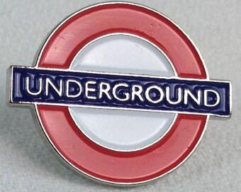 London Icons Underground Pin