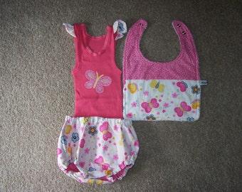 0 (up to 10kg) Three piece baby set