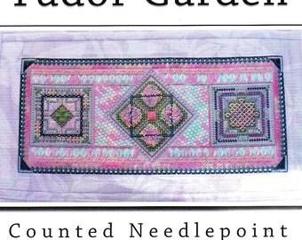 Tudor Garden  Needlepoint Book