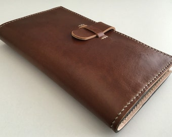 Leather Exec Lounge Travel Wallet