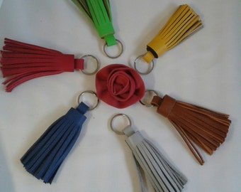 Handmade Leather Tassels