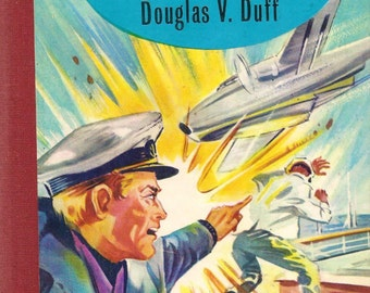 Berenger's Toughest Case by D V  Duff, 1965 Hardcover Abbey Rewards Library Post War Fifties Juvenile Fiction