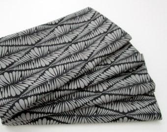 Cloth Napkins - Set of 4 - Gray Abstract Diamonds  - Wedding, Dinner, Table, Everyday