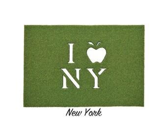 New York Synthetic Grass Doormat | Rug | Wall Decor