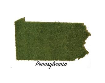 Pennsylvania Synthetic Grass Doormat | Rug | Wall Decor