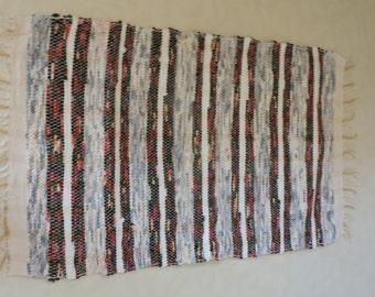 Hand Woven Rag Rug {15-38}