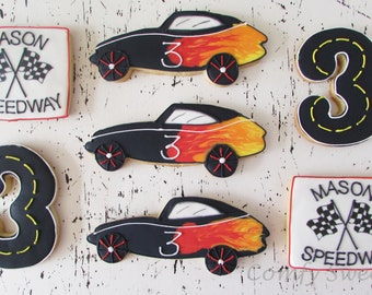 Race Car Cookies