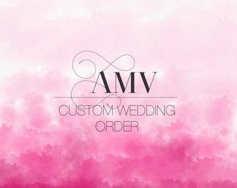 AMV Custom Wedding Order
