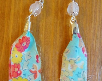 Earrings Liberty and Quartz