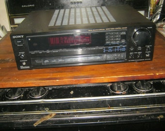 sony str-av720 vintage home theater receiver amp audio video control center