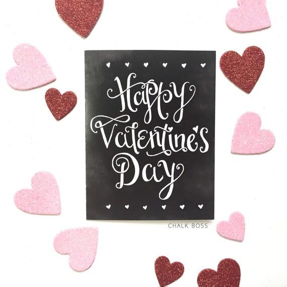 valentine card happy valentines day