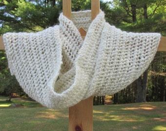 Hand Knit Alpaca Scarf