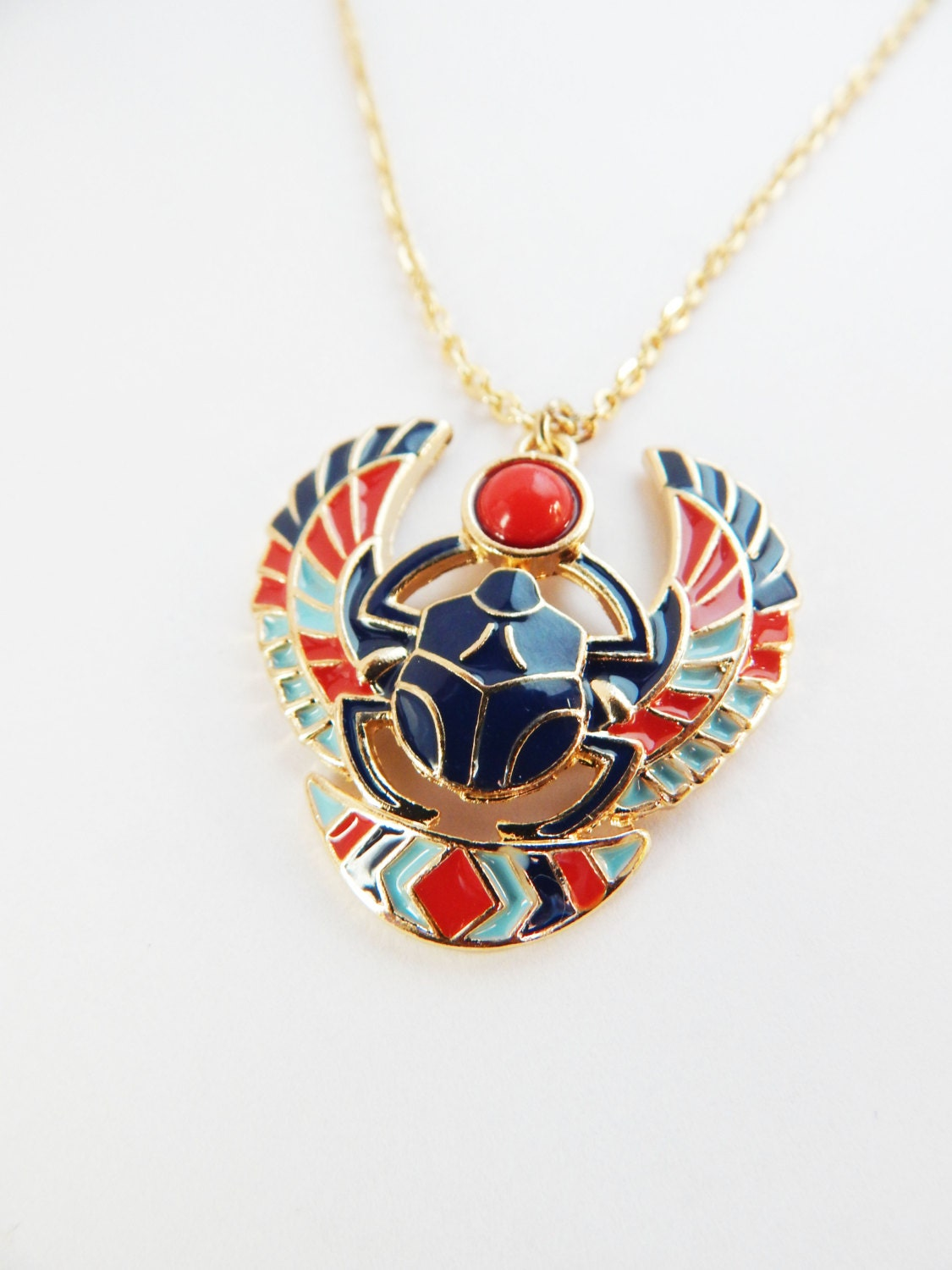 egyptian scarab necklace - photo #2