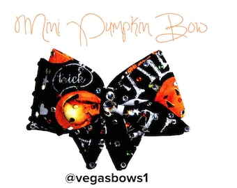 Mini Pumpkin Bow