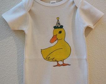 Duck Organic Made in the U.S. Onesie