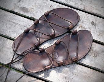 Flexible Zero Drop Leather Sandals - Flexi