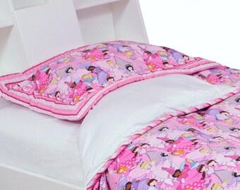 "Bedding set, ""Princess & glitter"", twin"