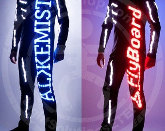 LED Flyboard Suit LOGO RGB