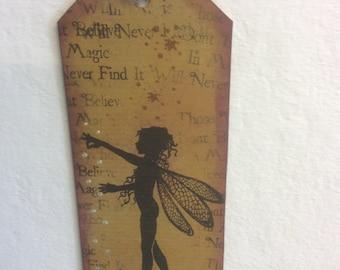Freya-fairy bookmark