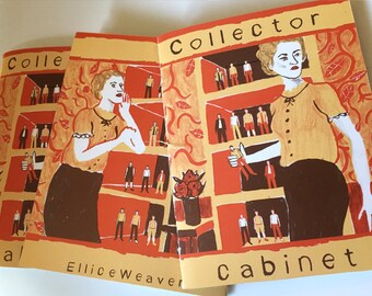 Collector Cabinet -  Zine -  mini comic