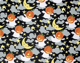 Moonlight in Ghoul, Happy Halloween Collection by David Walker for Free Spirit Fabrics