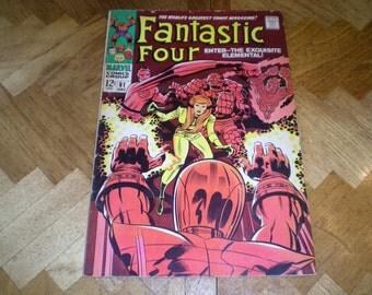 Fantastic Four 81, (1968), Crystal, Marvel Comics DF1
