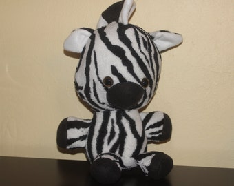Sale-Large stuffed plush zebra/toy