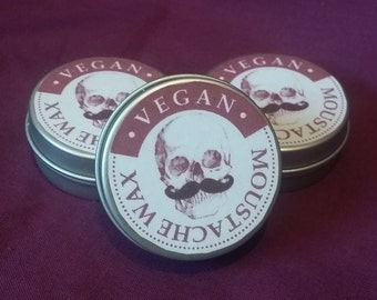Vegan moustache wax