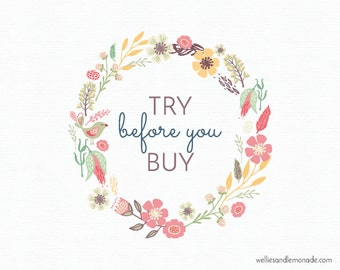 Try before you buy - Logo preview