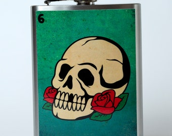 El Craneo Flask
