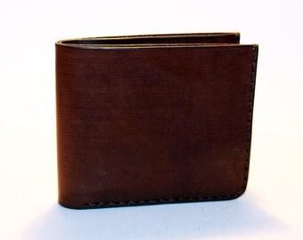 Leather wallet, brown wallet, great leather item, brown men's wallet, credit card wallet, gift for men.