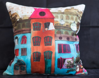homes pillow cover 16x16