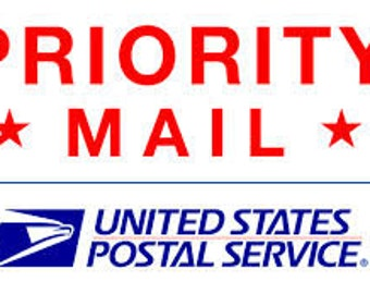 Add On USPS Priority Mail - US ONLY