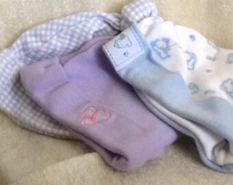 3 Infant Socking Hats