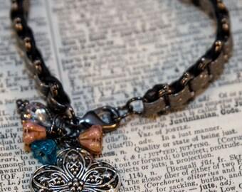 Rustic Siver Bracelet