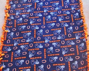 Chicago Bears Tie Blanket